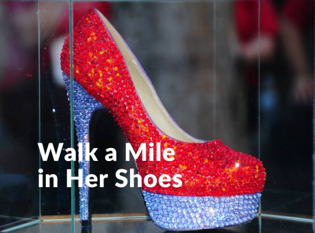 Walk a Mile button